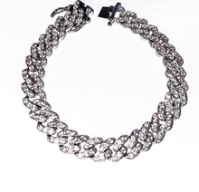 Load image into Gallery viewer, Mini Silver Cuban Link Bracelet