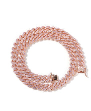Load image into Gallery viewer, Mini Pink Cuban Link Bracelet