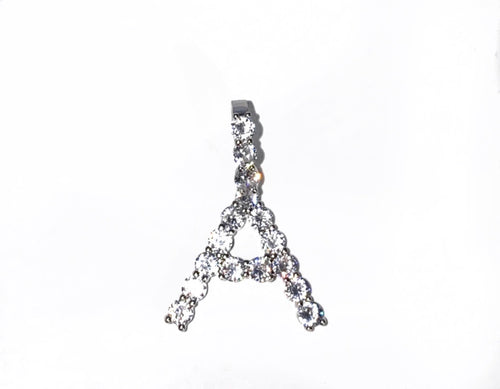 Icy Initial Letter Pendant (Small)