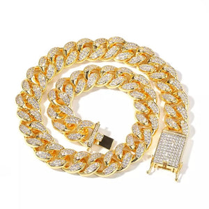 Gold Filled Cuban Link bracelet
