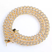 Load image into Gallery viewer, Mini Gold Cuban Link Necklace