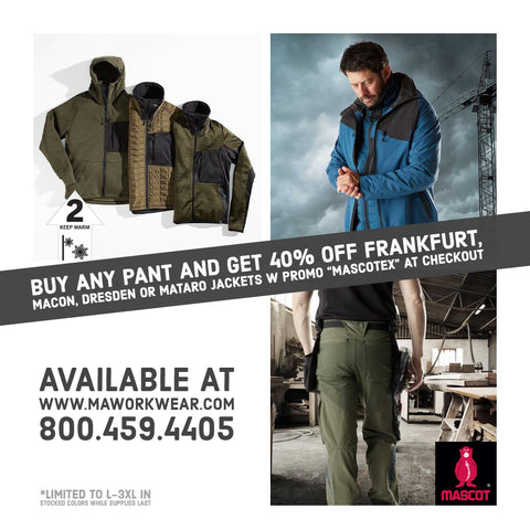 Buy ANY Pant Get 40% off Select Jackets