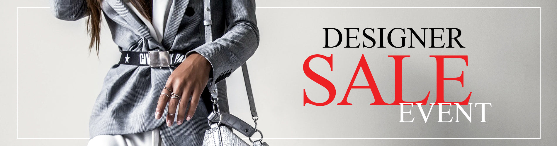 Shop our coveted Designer Sale Event going on June 3, 2021