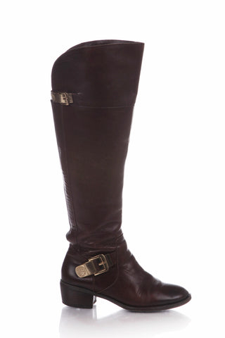 VINCE CAMUTO Boots Brown Riding Knee High Size 7