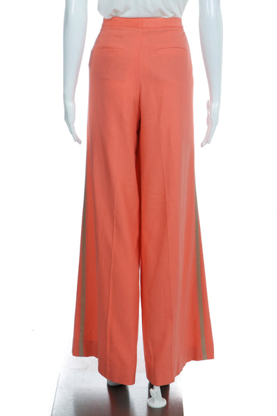 ROBERT RODRIGUEZ Silk High Waisted Wide Leg Slacks Size 2