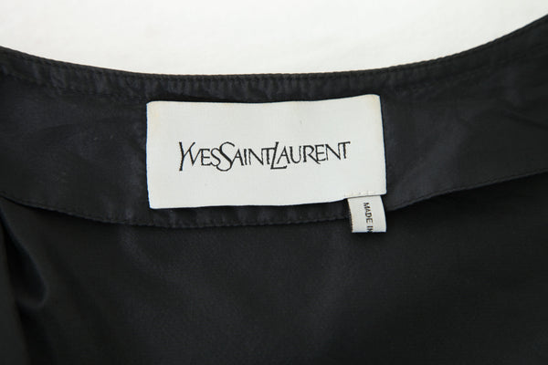 YVES SAINT LAURENT Cropped Bomber Jacket Size S