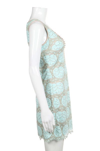LILLY PULITZER Nadine Shift Dress with Lace Overlay Size 2 (New)