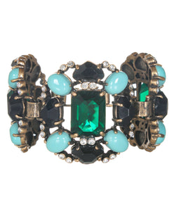 J. CREW Embellished Statement Bracelet