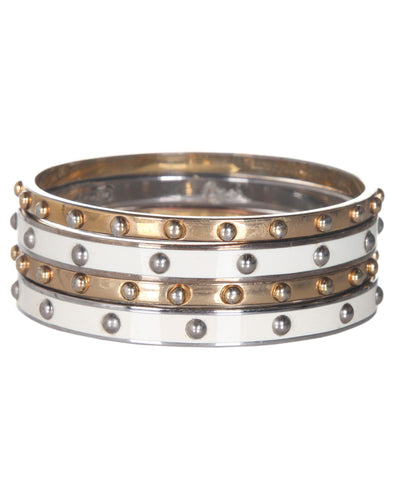 COACH Studded Bangle Set