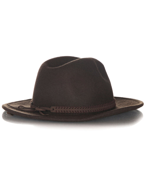 TREASURE & BOND Wool Panama hat - back view