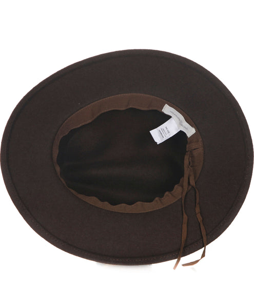 TREASURE & BOND Wool Panama hat - inside view