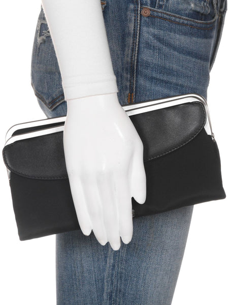 HOBO Nylon Wallet Clutch - on mannequin
