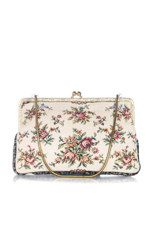 WALBORG Vintage Floral Mini Purse