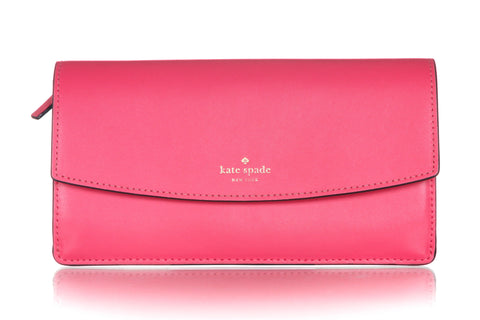KATE SPADE Slim Leather Wallet Pouch