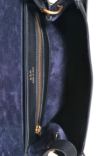 A.L.C. Leather Charlie Crossbody Bag - interior
