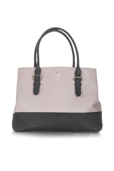 KATE SPADE Two Tone Leather Tote