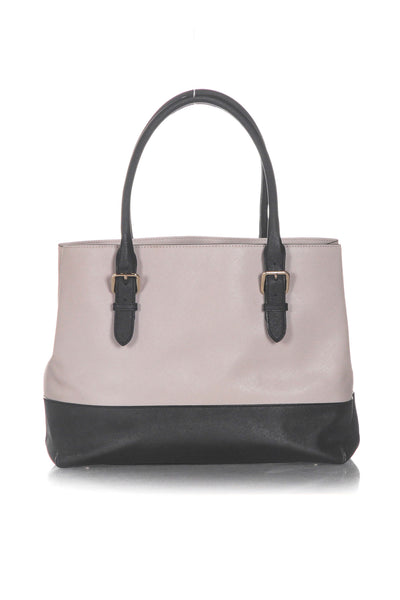 KATE SPADE Two Tone Leather Tote - back view