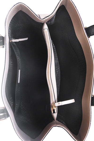 KATE SPADE Two Tone Leather Tote - interior