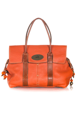 MULBERRY Limited Edition Bayswater Pebbled Leather Bag