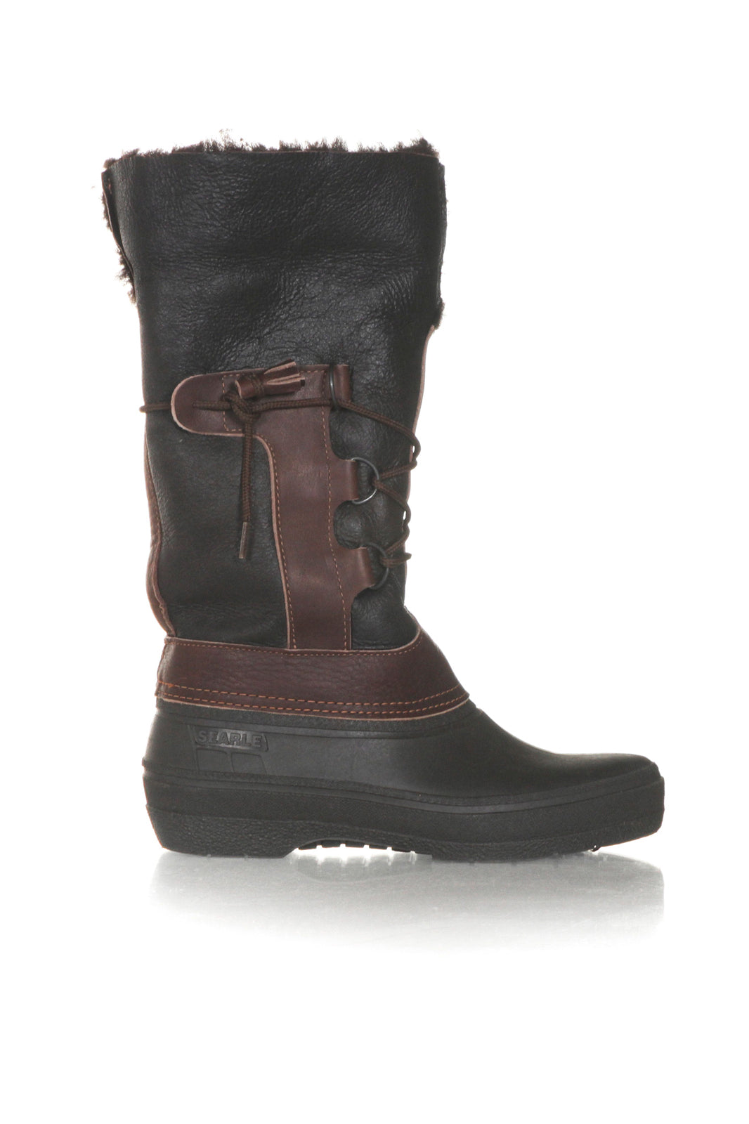 SEARLE Shearling Leather Winter Boots