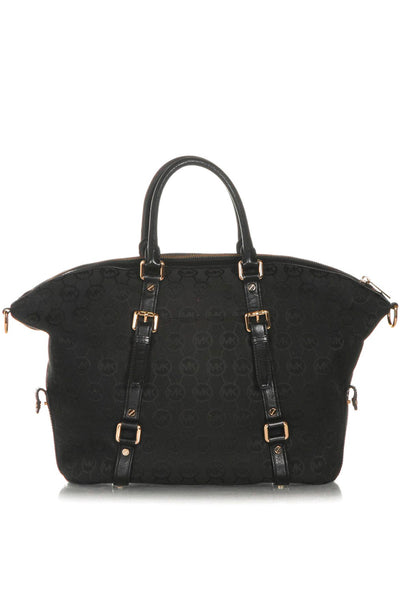 MICHAEL KORS Monogram Bedford Satchel