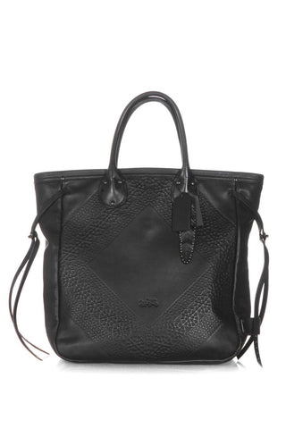 COACH Whiplash Tooled Leather Tote