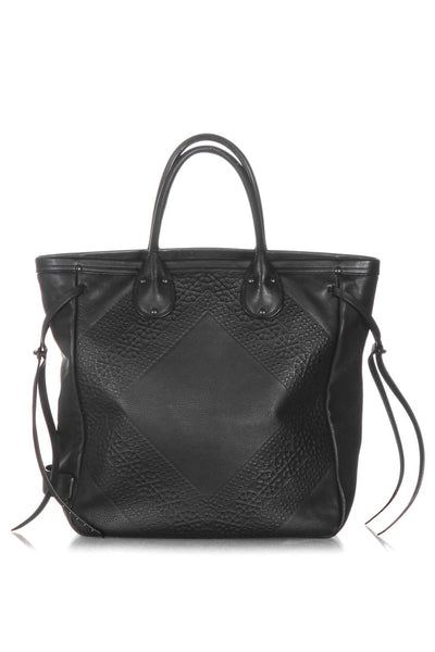 COACH Whiplash Tooled Leather Tote - back view