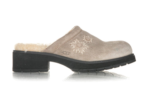 UGG Leather Solvang Clogs