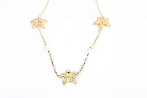KATE SPADE NEW YORK Necklace Gold Plated Starfish