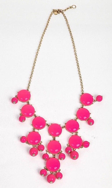 J. CREW Bubble Drop Necklace