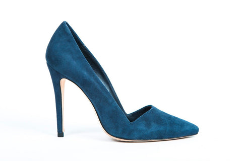 ALICE + OLIVIA Dina Blue Stiletto Heels Size 37
