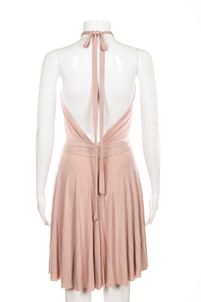 RACHEL PALLY Halter Dress Blush Pink