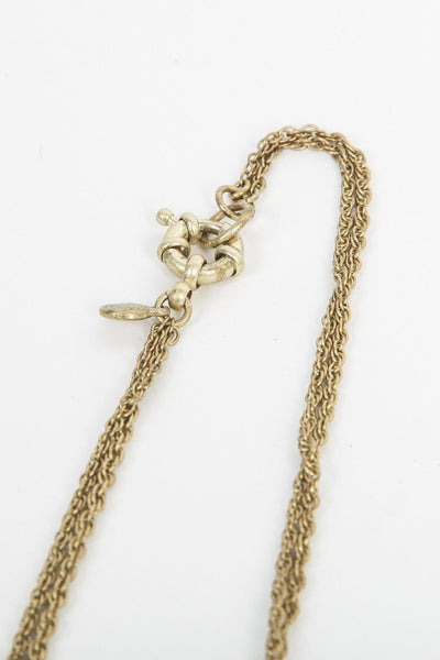 J.CREW Necklace Starfish Yellow and Green