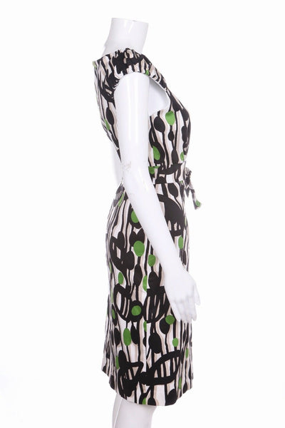 DAVID MEISTER Dress Green Black