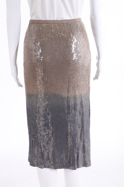 CHAN LUU Pencil Skirt Ombre Sequin Size S