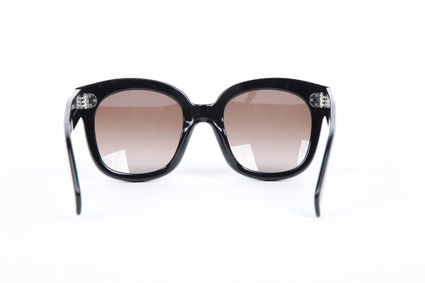 CÉLINE PARIS Audrey Black Oversized Sunglasses