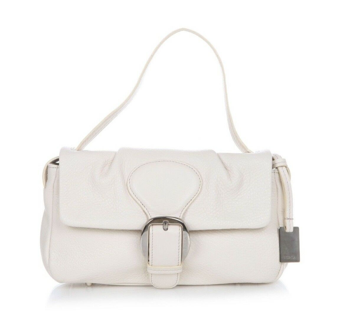 FURLA Leather Shoulder Clutch Handbag
