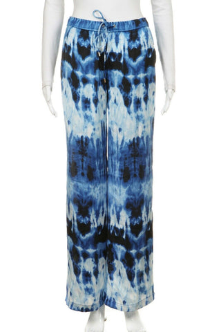 MICHAEL KORS Tie Dye Wide Leg Pants