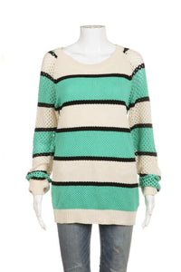 MAISON SCOTCH New Friends Knit Sweater, Size Large