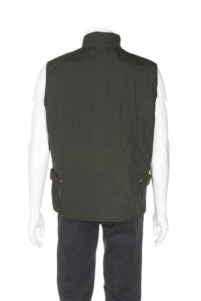 J. CREW MERCANTILE Sussex Quilted Vest - back view