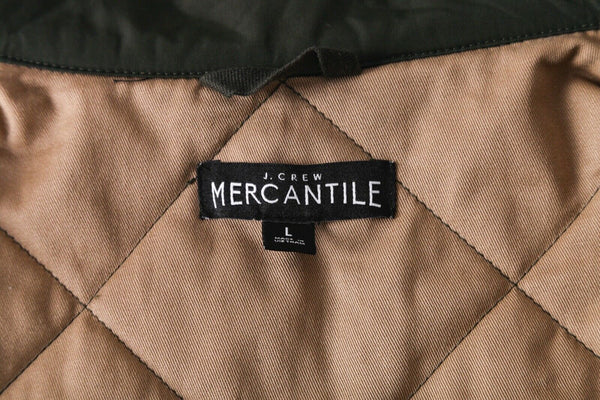 J. CREW MERCANTILE Sussex Quilted Vest - designer label