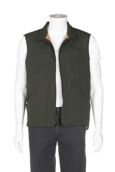 J. CREW MERCANTILE Sussex Quilted Vest - open view
