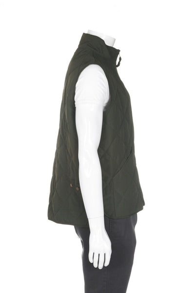 J. CREW MERCANTILE Sussex Quilted Vest - side view