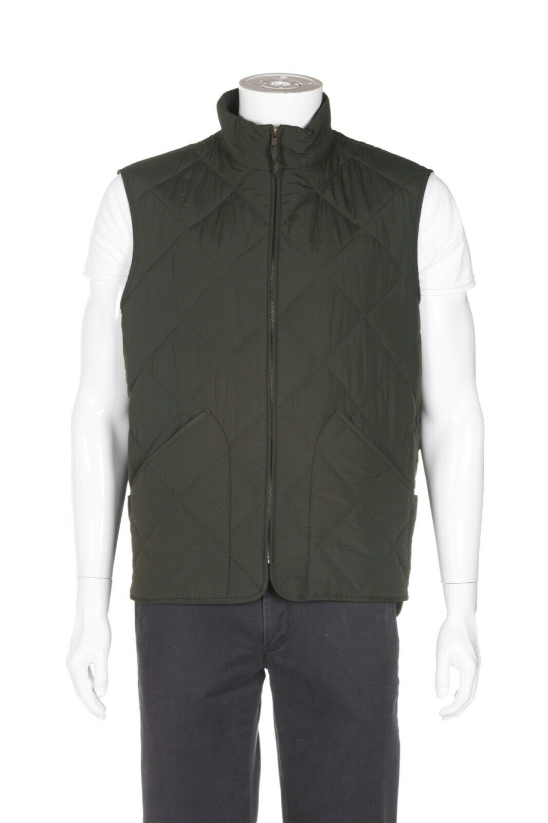 J. CREW MERCANTILE Sussex Quilted Vest