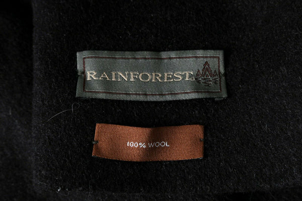 RAINFOREST Classic Double Breasted Trench Coat - material label