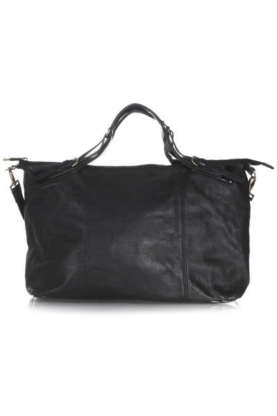 TED BAKER Large Leather Tote Bag - Back View