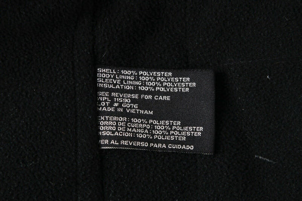 WEATHERPROOF Layered Fleece Lined Jacket - material tag