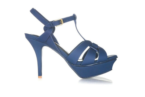 YVES SAINT LAURENT Tribute Platform Sandals