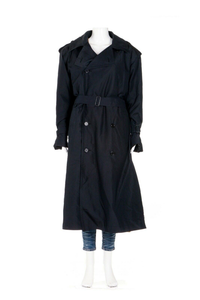 YVES SAINT LAURENT Vintage Fourrures Trench Coat
