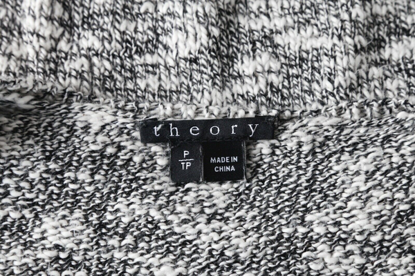 THEORY Marled Knit Sweater - designer tag